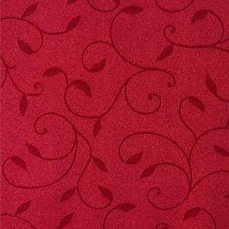 Tkanina Dafne, kolor 2043 bordowy