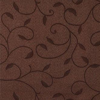Tkanina Dafne, kolor 357 brązowy