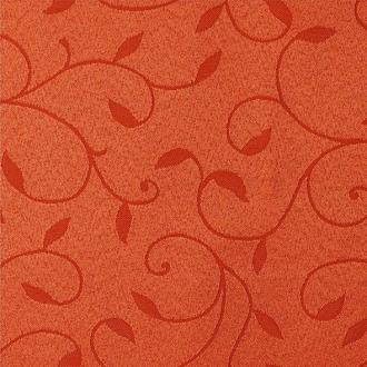 Tkanina Dafne, kolor 3970 terakota