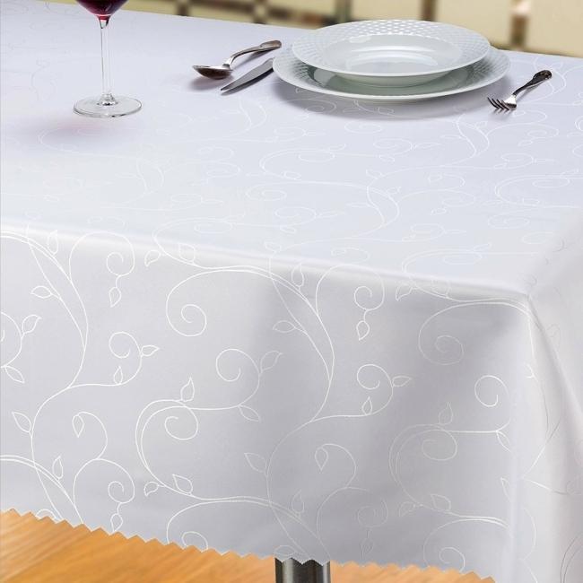 Tkanina Mela, kolor 2000 biały