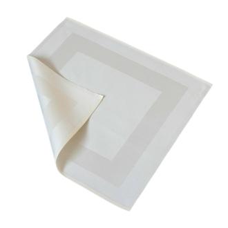 Bankietówki Kante, 100% bawełna, kolor biały